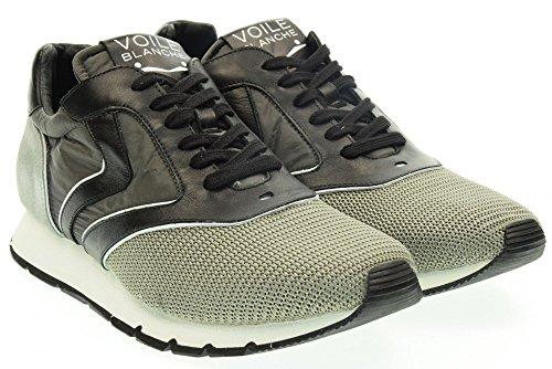VOILE BLANCHE uomo sneakers basse LIAM EASY grigio 43 Grigio-Nero