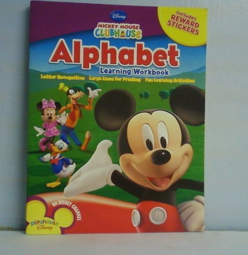 Mickey Mouse Clubhouse Workbooks w/Stickers - The Alphabet PDF