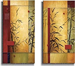 Garden Dance by Don Li-Leger 2-pc Premium Stretched Canvas Art Set (Ready to Hang)