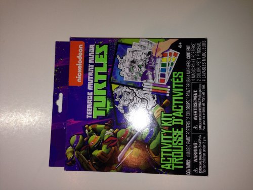 Teenage Mutant Ninja Turtle Activity Kit