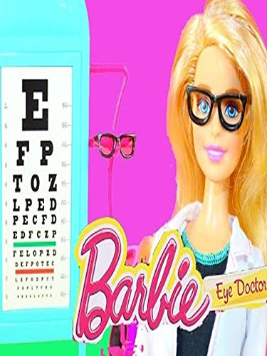 BARBIE EYE DOCTOR Optometrist Barbie Baby Doll & Eye Doctor Fun Toys Glasses Kids Toy Review Video