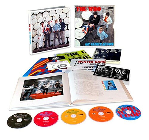 The Who - My Generation [5 Cd][super Deluxe] - Zortam Music