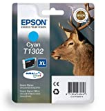 Cyan Original High Capacity Printer Ink Cartridge for Epson Stylus Office BX635FWD