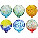 Gift Craft 10-Inch Colored Glass Gazing Ball, Small (Discontinued by Manufacturer)