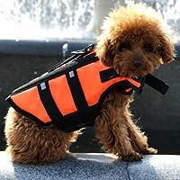 ペット 犬 ライフジャケット フローティングベスト 安全 海 川 救命胴衣 Mサイズ