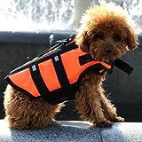 ペット 犬 ライフジャケット フローティングベスト 安全 海 川 救命胴衣 Lサイズ 大型犬