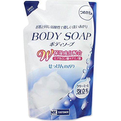 MKB 弱酸性ボディソープW保湿 詰替用 せっけんの香り 400ml