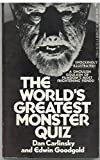 The Worlds Greatest Monster Quiz