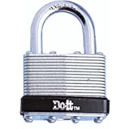 Master Lock1801DDIBDo it Laminated Steel Padlock-1-3/4