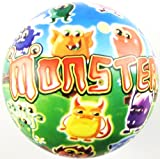Inflatable Monster PVC Plastic Football Play Beach Ball Kid Boy Girl Party Child Pool Birthday Garden Summer Fun 23cm