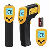 Etekcity® 774 (ETC 8380) Digital Infrared (IR) Thermometer with Laser Sight, -58~+716°F, 12:1 D:S, Instant-read Temperature Gun, Battery Included