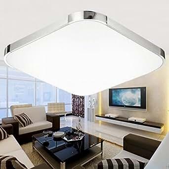 sailun 36w kaltwei led modern deckenleuchte deckenlampe flur wohnzimmer lampe schlafzimmer. Black Bedroom Furniture Sets. Home Design Ideas