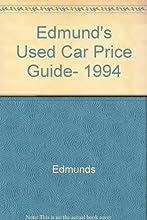 Edmund39s Used Car Price Guide 1994