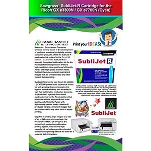 Sawgrass SubliJet R Ricoh GXE3300N / GXE7700N Cartridge - Cyan *** F r e e Shipping ***