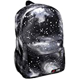 Starry Sky Print Unisex Casual Canvas Shoulders Bag Backpack School Bag