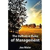 The Definitive Rules of Management ~ Joerg Meier