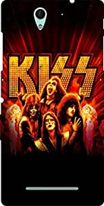 Incarnation Kiss Girls Sony Experia C3 Back Cover & Cases