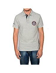 Being Muslim Grey Cotton T-shirt For Men - B00U188G9S