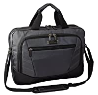 "Kenneth Cole Reaction Briefcase ""The Rock The Boat"" Double Zipper Laptop Case/Messenger - Charcoal from N/A"