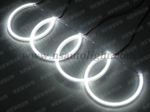 Newsun 7000K White Bmw Headlight 3014 Smd Led Halo Rings Angel Eyes For E36 E38 E39 E46 Bmw 3 5 7 Series