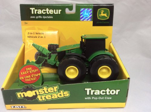 John Deere Monster Morphs Vehicle - 4 Wheel Drive Tractor with Ripper (John Deere Remote Control compare prices)