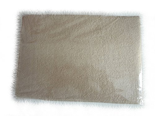 Blueberry Shop 2x Terry Towelling Fitted Sheet 40X90 Nursery Baby Cot/ Moses Basket/ Crib Beige