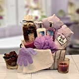 Gift for Her Bath & Body Spa Caddy Spa Gift Basket