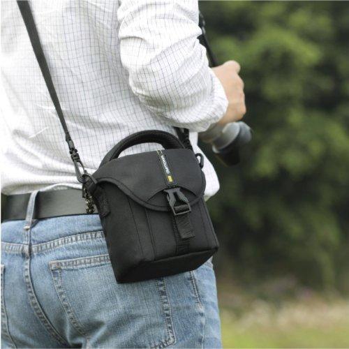 VANGUARD ショルダーバッグ BIIN 10 Black デジタルビデオカメラ+機材類対応 ブラック