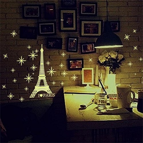 decorie-stars-tower-fluorescent-in-the-dark-wall-stickers-for-kids-bedroom-decor-2735cm