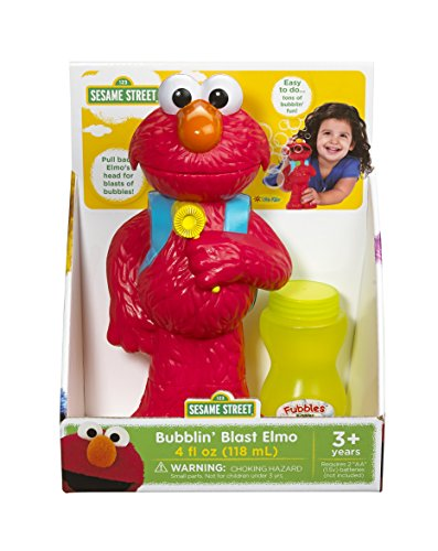 Little Kids Bubblin' Blast Elmo, Red