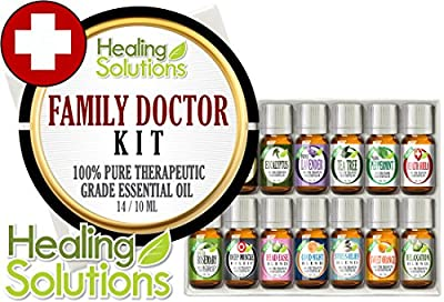 Family Doctor set 100% Pure, Best Therapeutic Grade Essential Oil