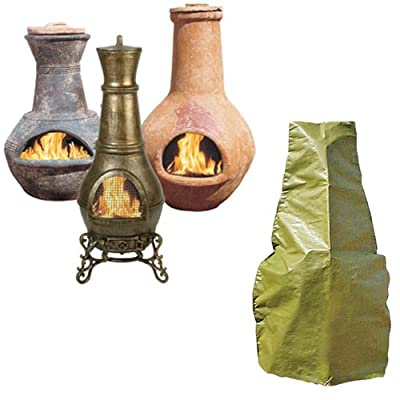 Chiminea Cover Medium Shaped Fit by Bosmere