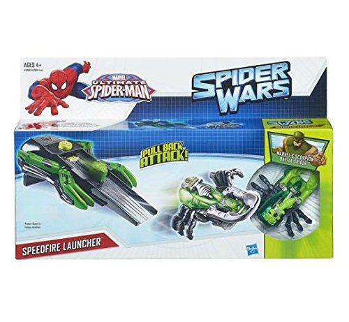 Marvel Ultimate Spider-Man Spider Wars Speedfire Launcher - GREEN - 1