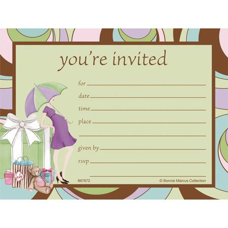 Parenthood Baby Shower Post Card Invitations
