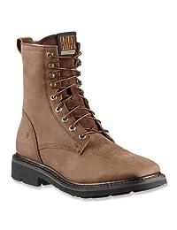 "Ariat Mens Cascade 8"" Wide Square Toe Boot"