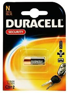 Duracell Security MN9100 1.5 V Alkaline Batteries - 10 x 1-Pack (10 Batteries)
