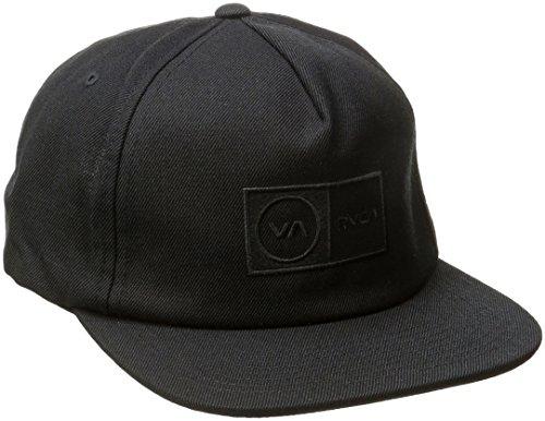 rvca-cappellino-da-baseball-uomo-black-taglia-unica