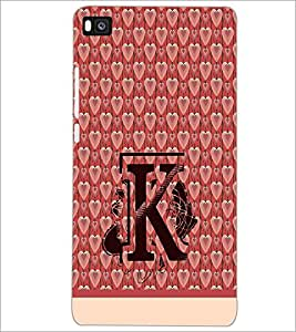 PrintDhaba GRANDbet K D-1419 Back Case Cover for HUAWEI P8 (Multi-Coloured)