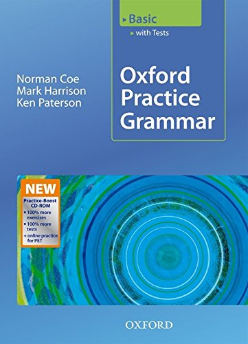 Oxford Practice Grammar Basic: Practice-Boost CD-ROM Pack With Key: With Key Practice-coost CD-ROM Pack Basic level