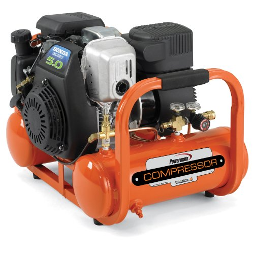 Cheap Industrial Air Contractor CTA5090412 4-Gallon Grade Direct Drive Pontoon Air Compressor with Honda Engine (CTA5090412)