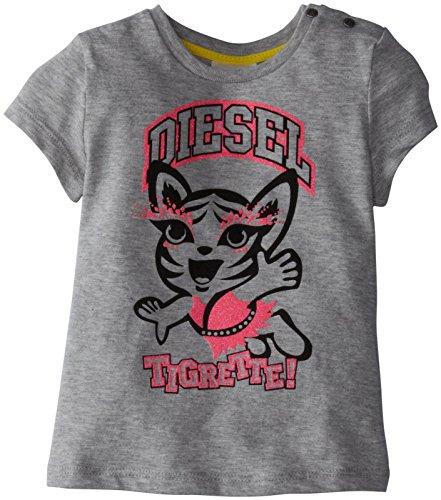 Diesel Tee (Baby/Toddler) - Grey-24 Months