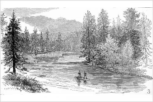 Henry s Fork, Snake River, Yellowstone, 1883