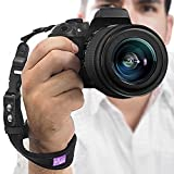 Camera Hand Strap - Rapid Fire® Heavy Duty Safety Wrist Strap by Altura Photo w/ 2 Alternate Connections for Use w/ Large DSLR or Point & Shoot Cameras (2016 Update)