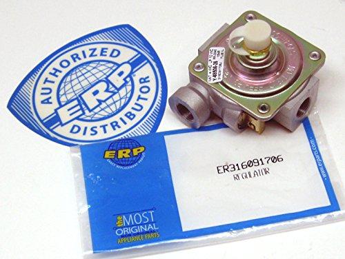 Gas Oven Pressure Regulator for Electrolux Frigidaire 316091706 AP2125390 PS438464 (Lp Gas Range Regulator compare prices)