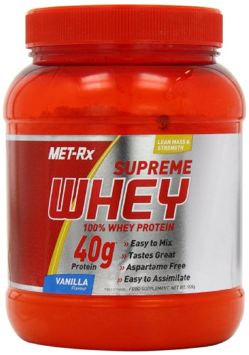 MET-Rx Supreme Whey 908 g Vanilla Pure Protein Shake Powder