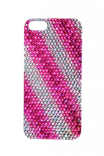 lux-accessories-iphone-5-5s-fuchsia-purple-pink-pattern-rhinestone-cell-phone-sticker-case