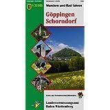 Göppingen / Schorndorf 1 : 35 000: Wanderkarte