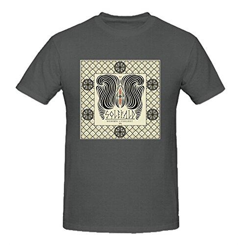Solefald Norrn Livskunst Designer Tee Shirts For Uomo