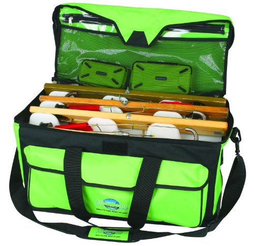 Flambeau Tackle Ice Maximizer Duffle Bags (Lime