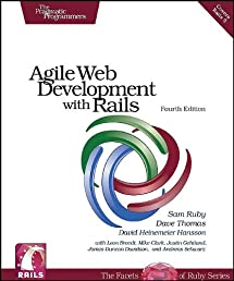 Agile Web Development with Rails (Pragmatic Programmers)